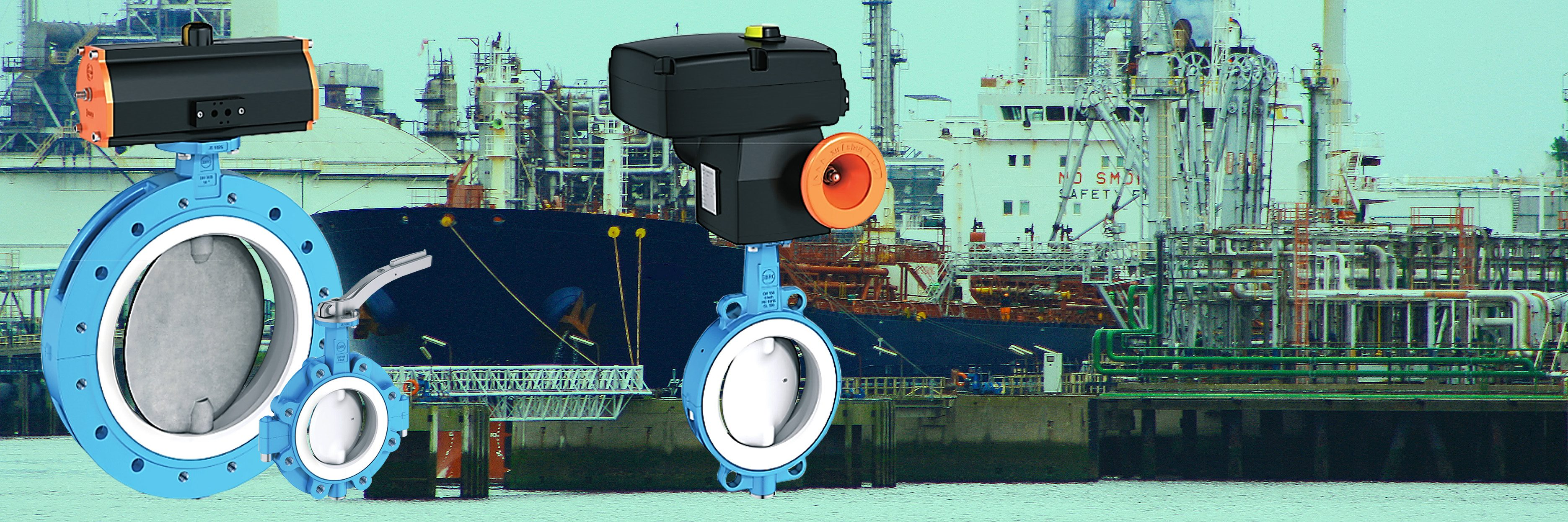 Products4Ships EBRO valves PTFE lined