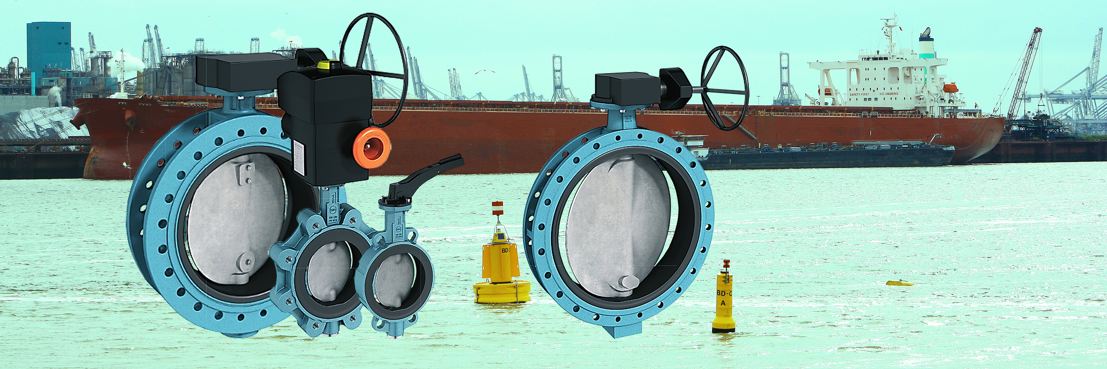 Products4Ships EBRO valves rubber lined