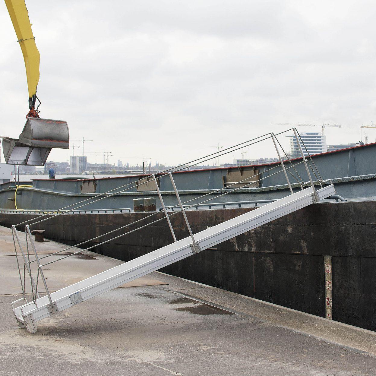 Products4Ships aluminium loopplanken binnenvaart