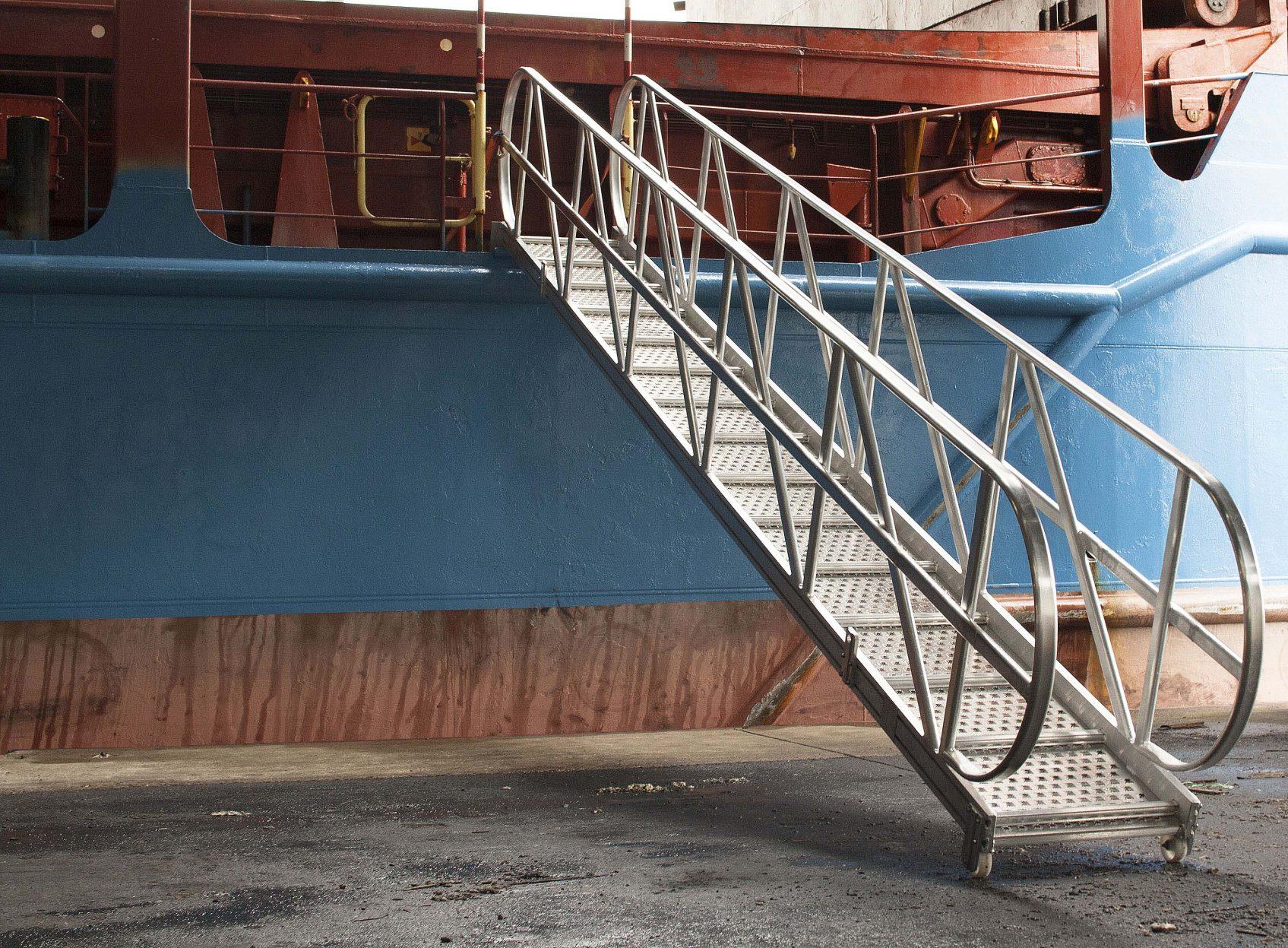 Products4Ships aluminium loopplanken zeeschepen