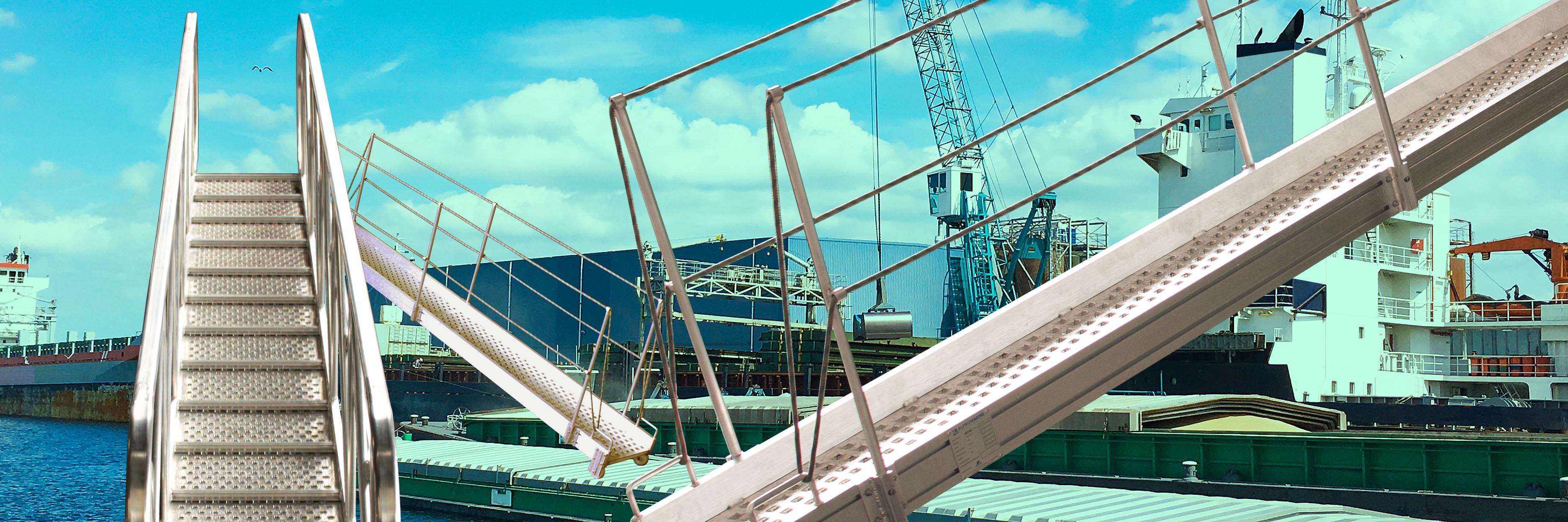 Products4Ships aluminium gangways
