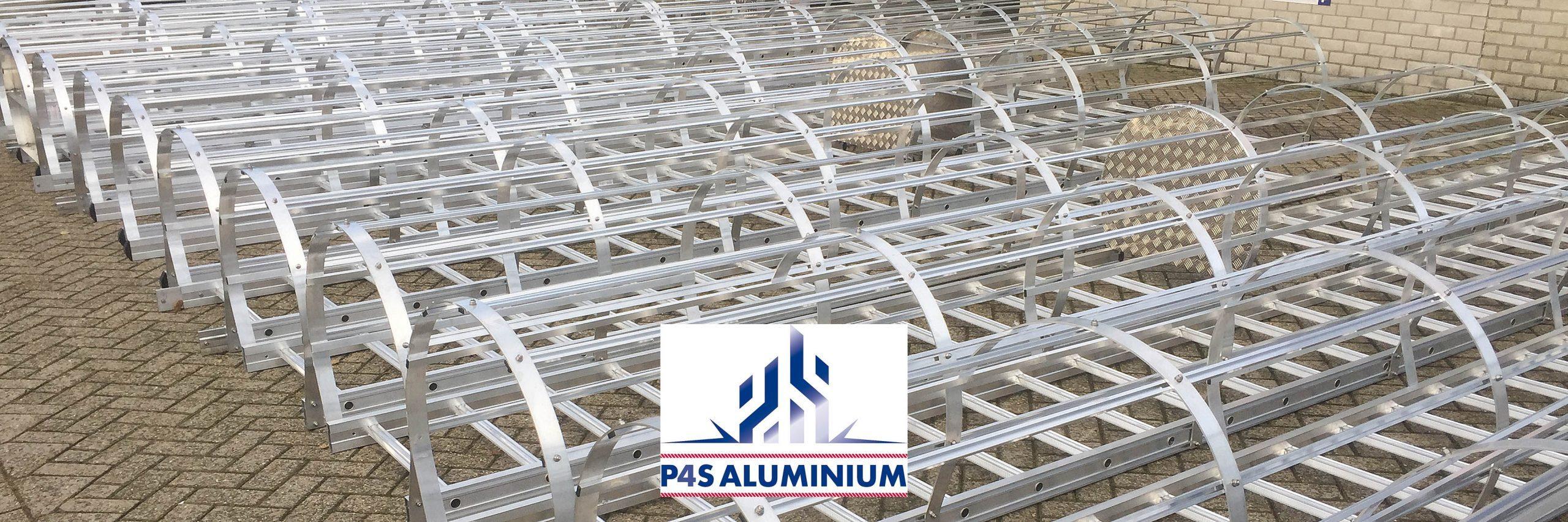 P4S Aluminium kooiladders