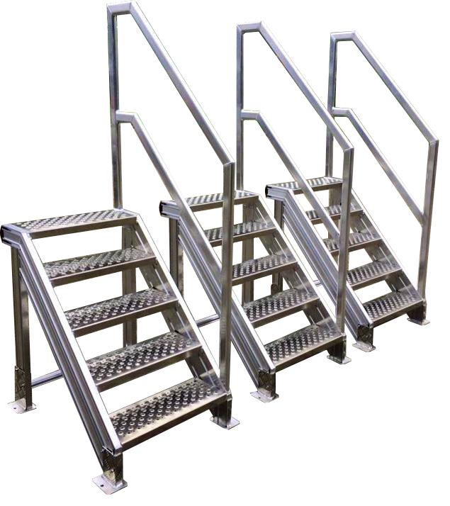 P4S Aluminium trappen