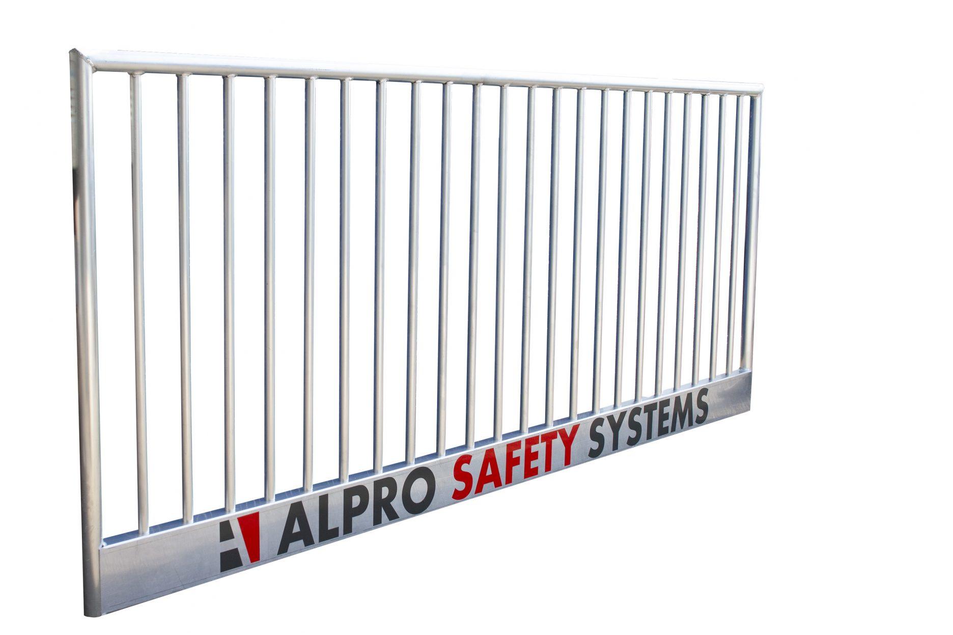 Aluminium veiligheidsreling - bouwreling