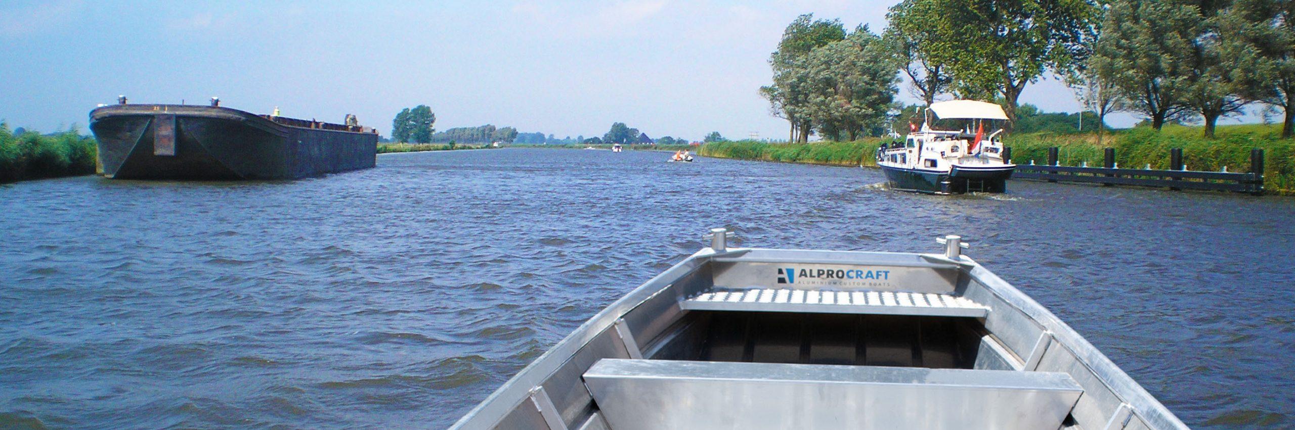 Products4Ships aluminium motorboot platbodem 4 (1)