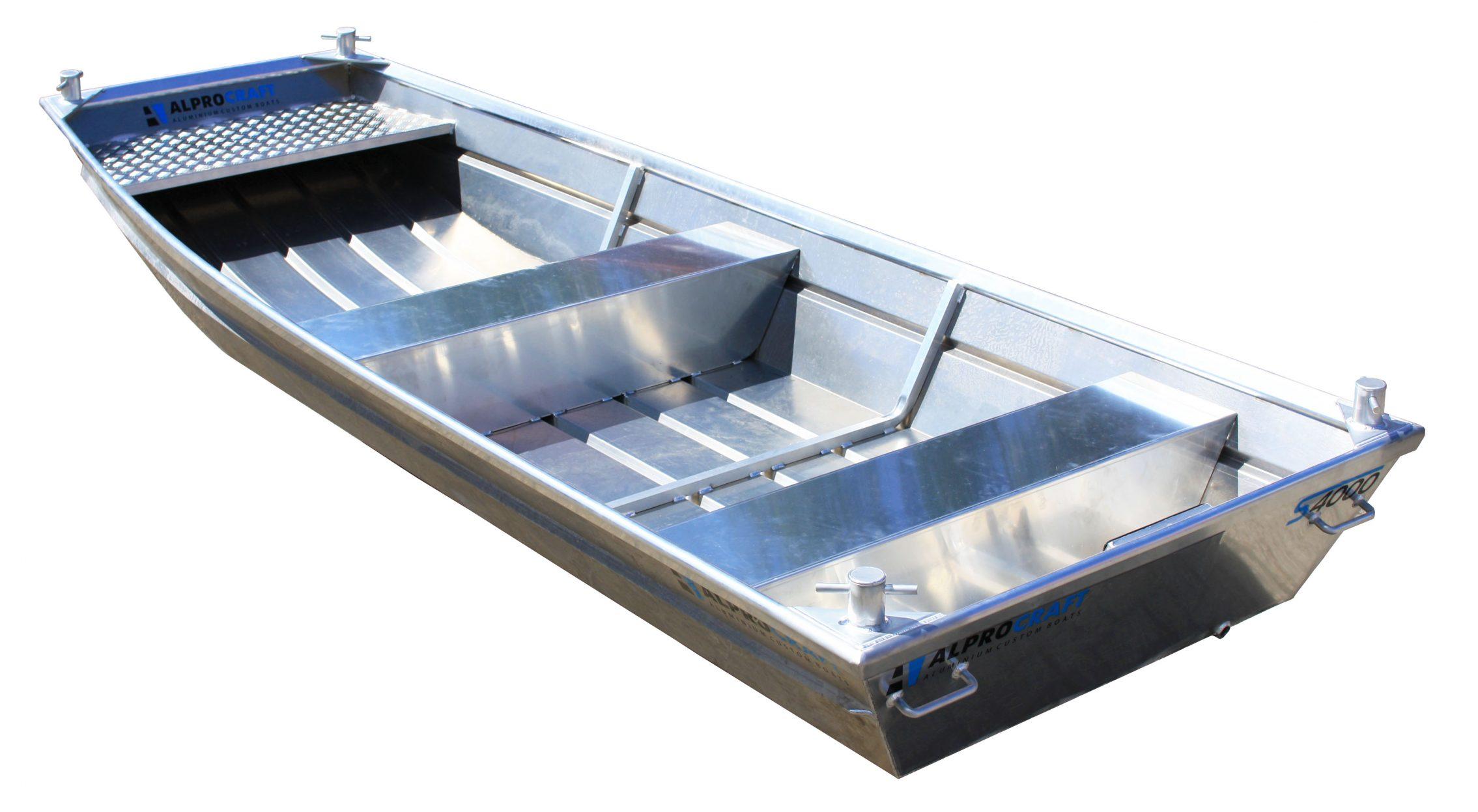 Products4Ships aluminium motorboot platbodem 8-1